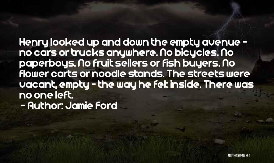 Flower Sellers Quotes By Jamie Ford