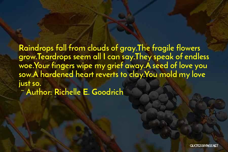 Flowers And Raindrops Quotes By Richelle E. Goodrich