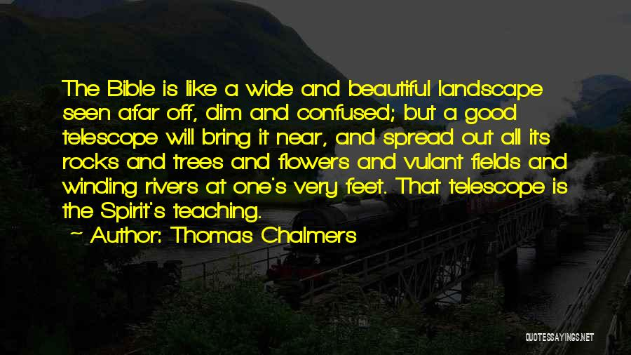 Flowers In The Bible Quotes By Thomas Chalmers
