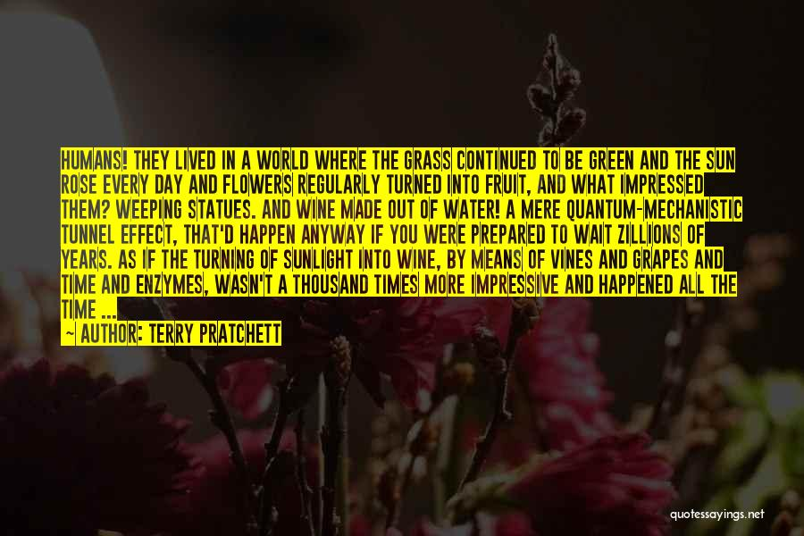 Flowers Made My Day Quotes By Terry Pratchett