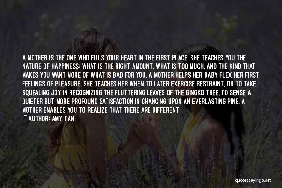 Fluttering Heart Quotes By Amy Tan