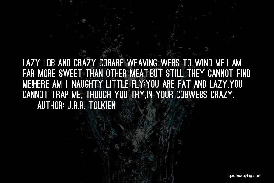 Fly Trap Quotes By J.R.R. Tolkien