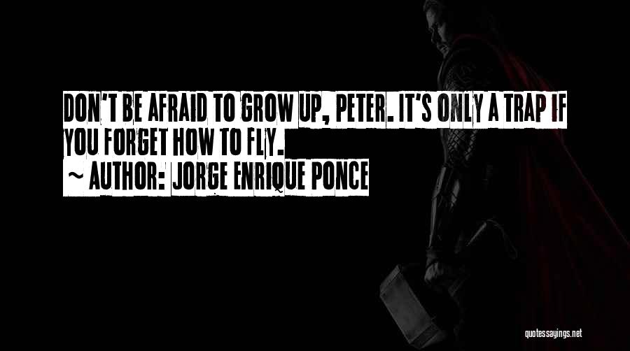 Fly Trap Quotes By Jorge Enrique Ponce