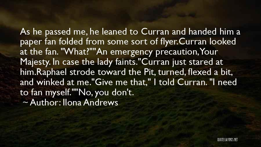 Flyer Quotes By Ilona Andrews