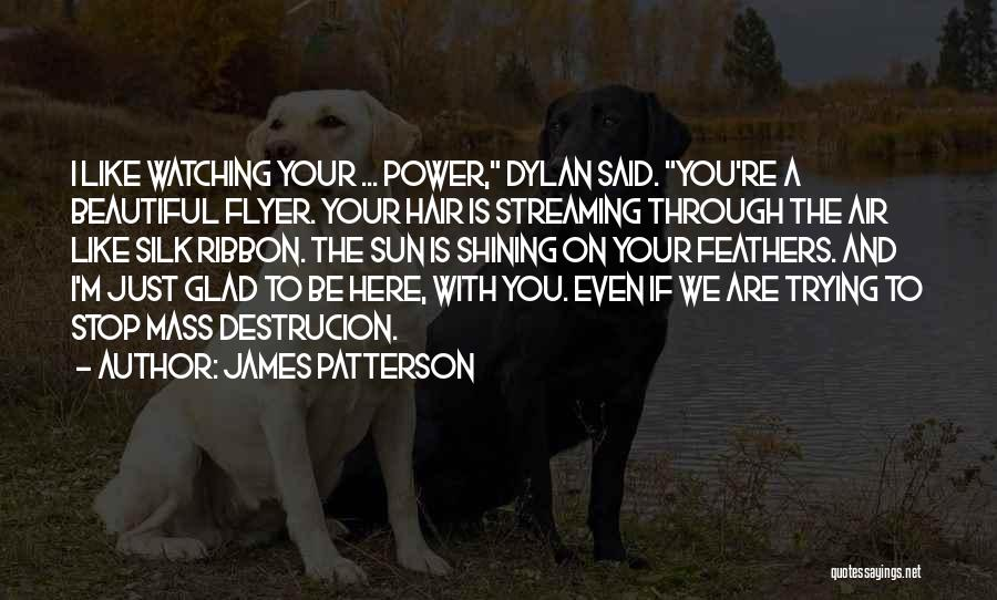 Flyer Quotes By James Patterson