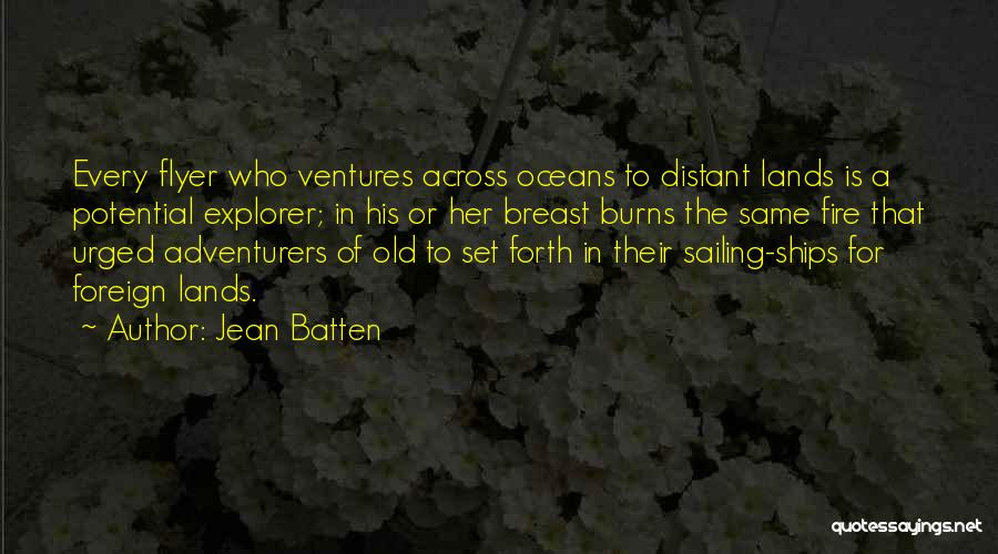 Flyer Quotes By Jean Batten