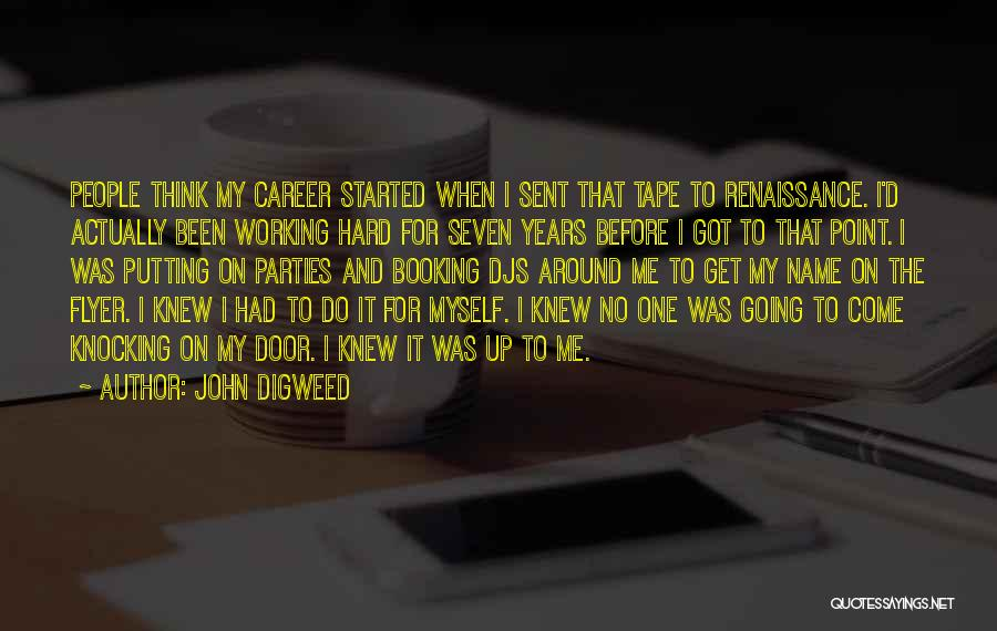 Flyer Quotes By John Digweed