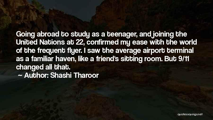 Flyer Quotes By Shashi Tharoor