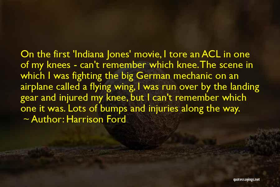 Flying Airplane Quotes By Harrison Ford