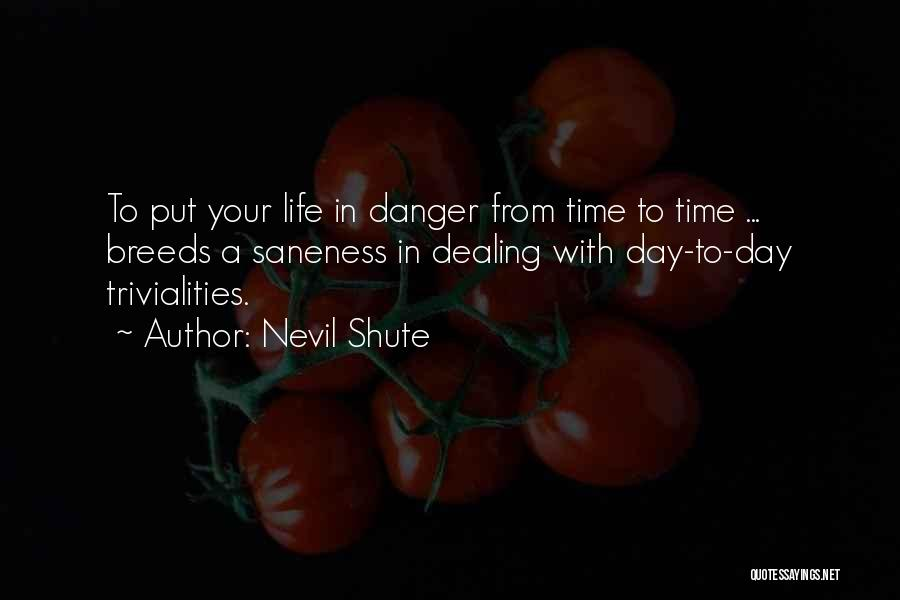 Flying Airplane Quotes By Nevil Shute