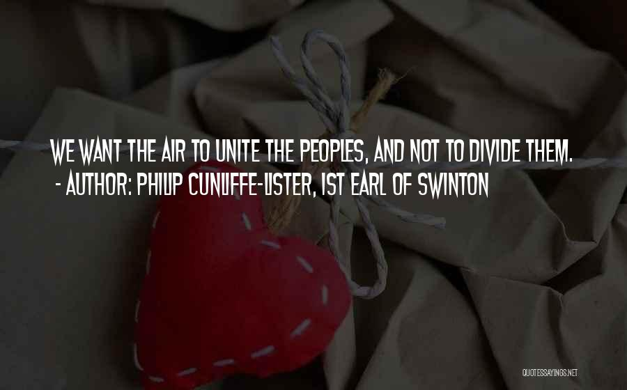 Flying Airplane Quotes By Philip Cunliffe-Lister, 1st Earl Of Swinton