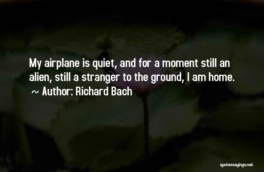Flying Airplane Quotes By Richard Bach
