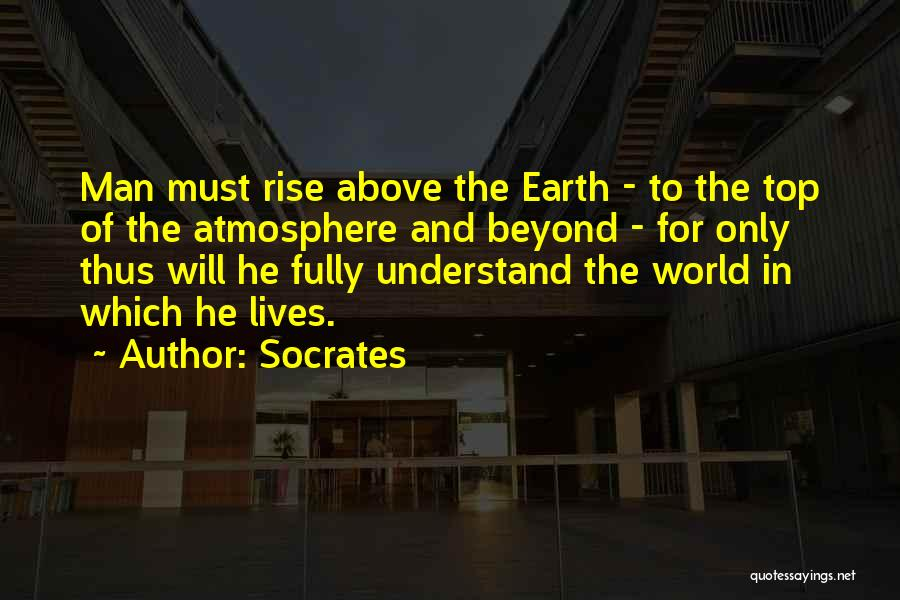 Flying Airplane Quotes By Socrates