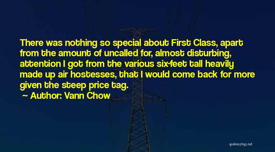 Flying Airplane Quotes By Vann Chow