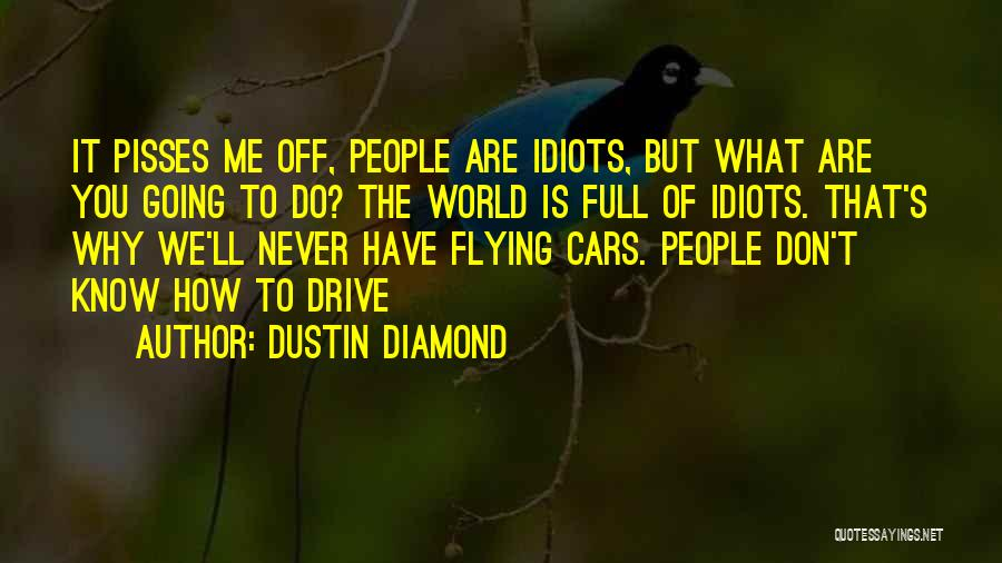 Flying Cars Quotes By Dustin Diamond