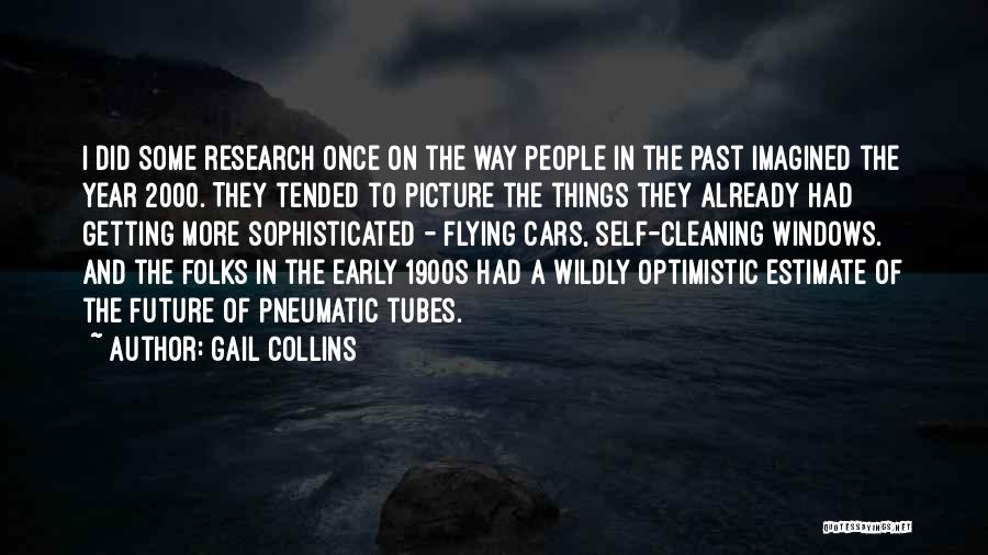 Flying Cars Quotes By Gail Collins