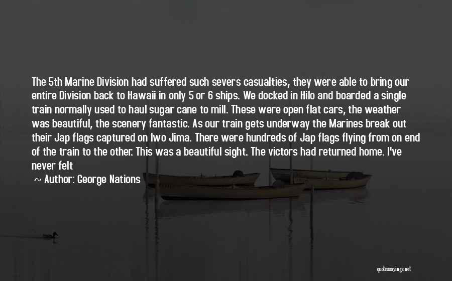 Flying Cars Quotes By George Nations