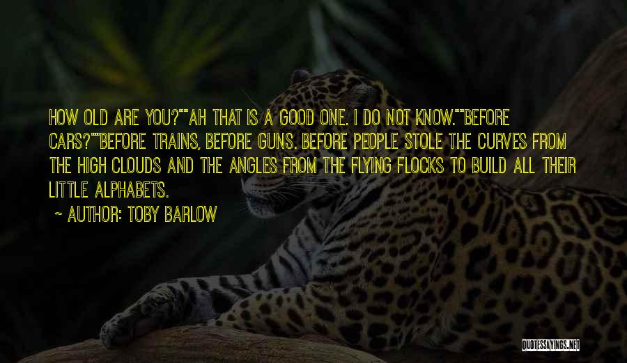 Flying Cars Quotes By Toby Barlow