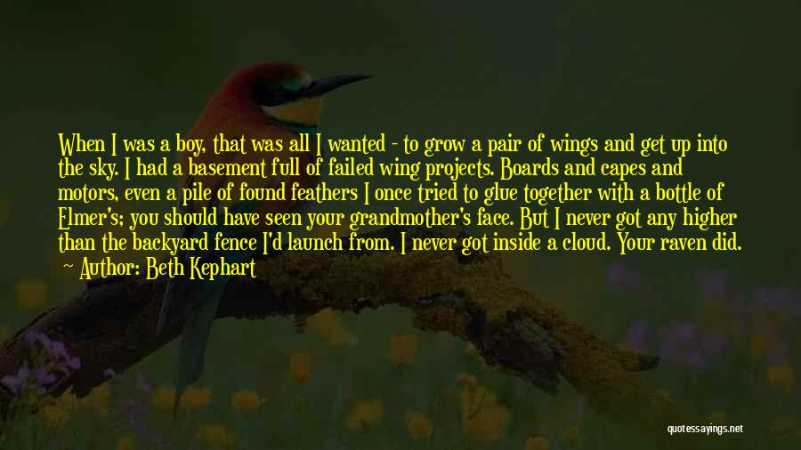 Flying Together Quotes By Beth Kephart