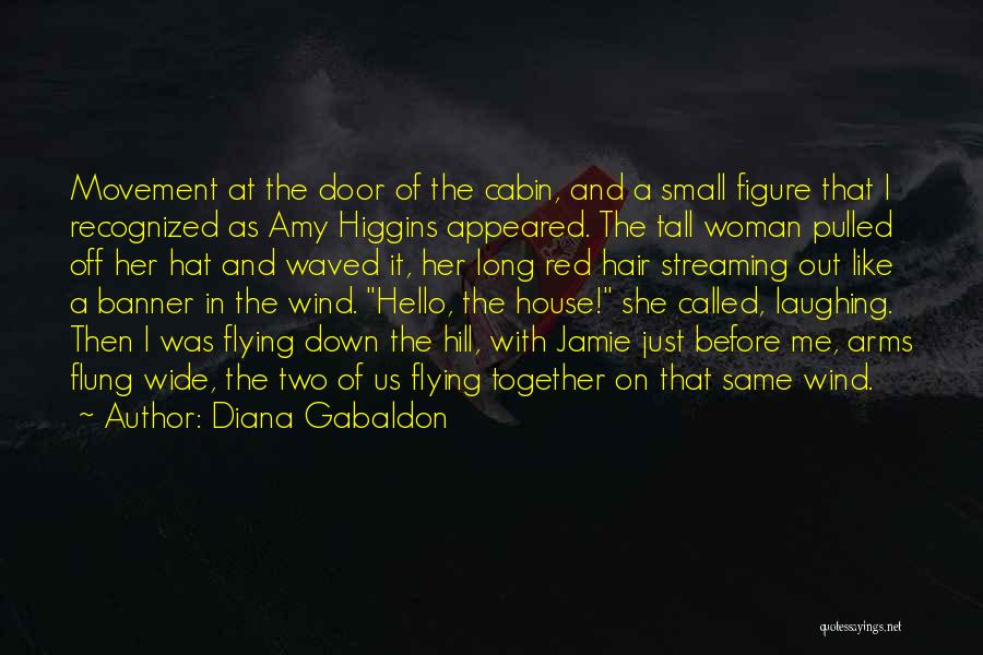 Flying Together Quotes By Diana Gabaldon