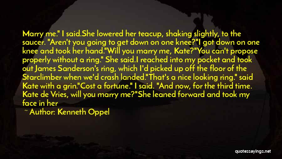 Flying Together Quotes By Kenneth Oppel