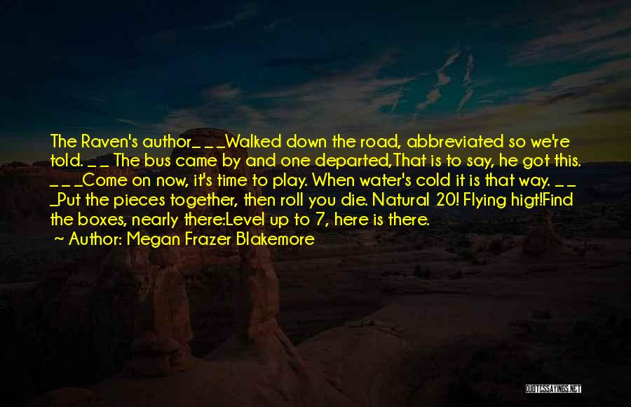 Flying Together Quotes By Megan Frazer Blakemore