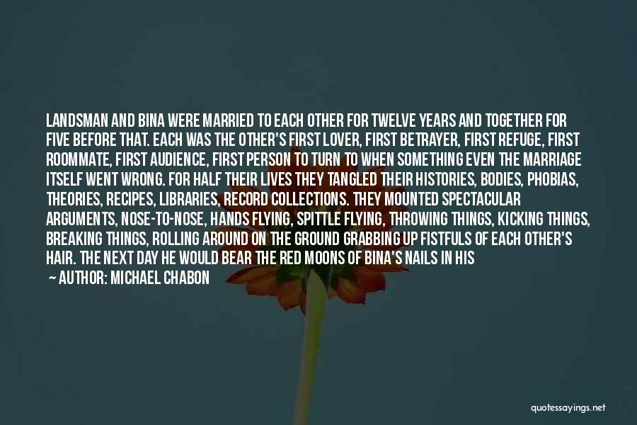 Flying Together Quotes By Michael Chabon