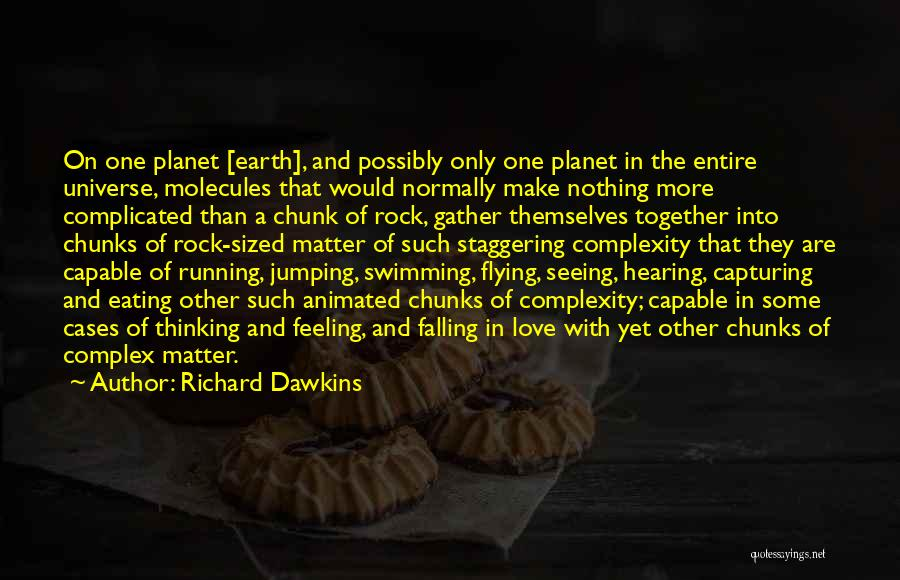 Flying Together Quotes By Richard Dawkins
