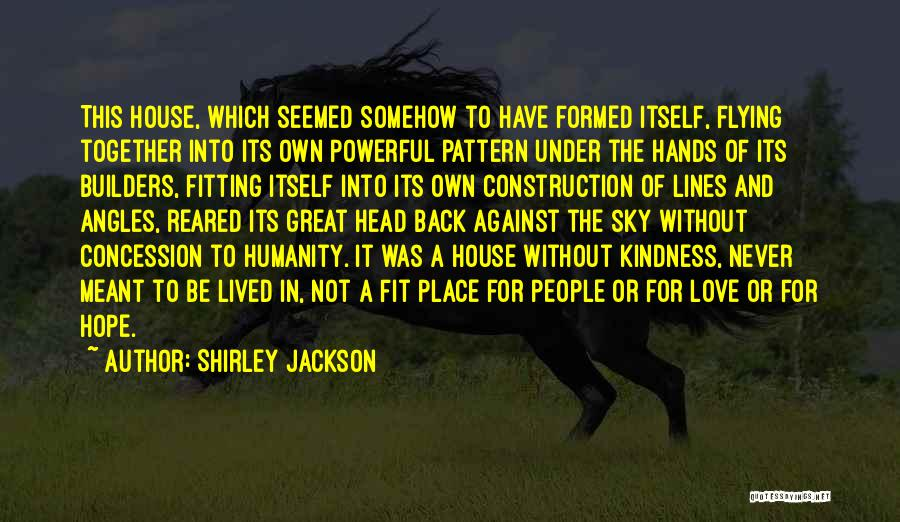 Flying Together Quotes By Shirley Jackson