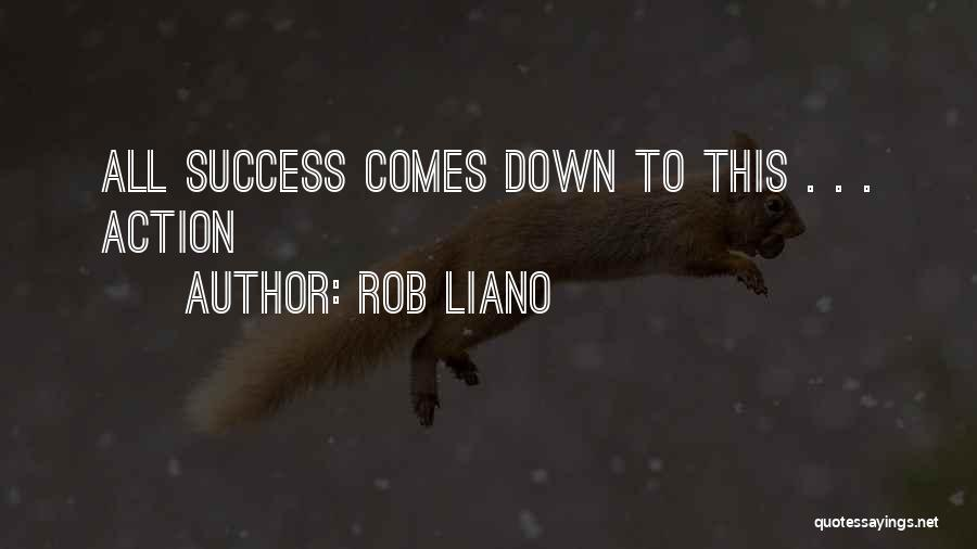 Focus And Hard Work Quotes By Rob Liano