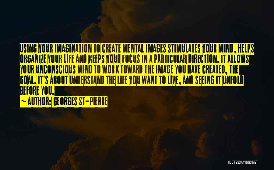Focus Quotes By Georges St-Pierre