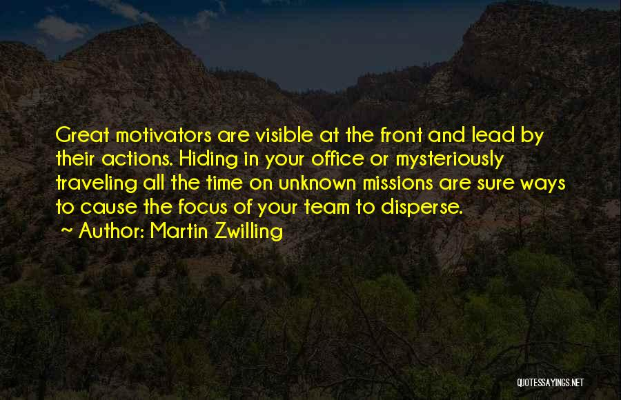Focus Quotes By Martin Zwilling