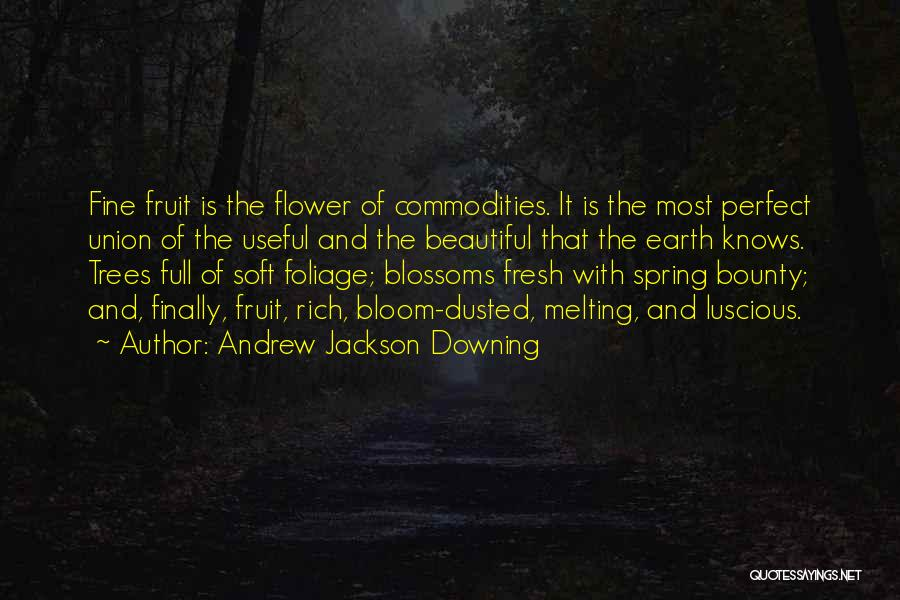 Foliage Quotes By Andrew Jackson Downing