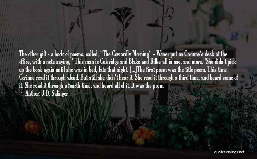 Foliage Quotes By J.D. Salinger