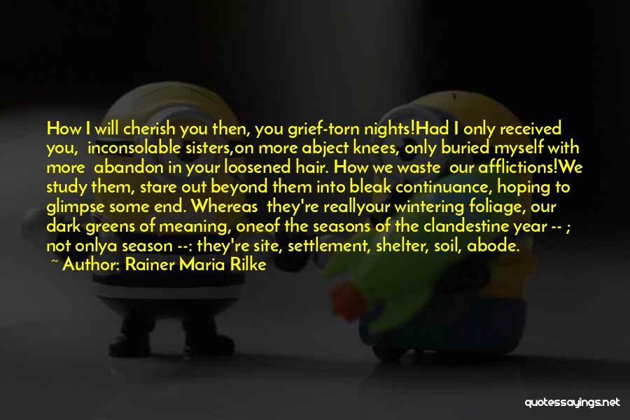 Foliage Quotes By Rainer Maria Rilke