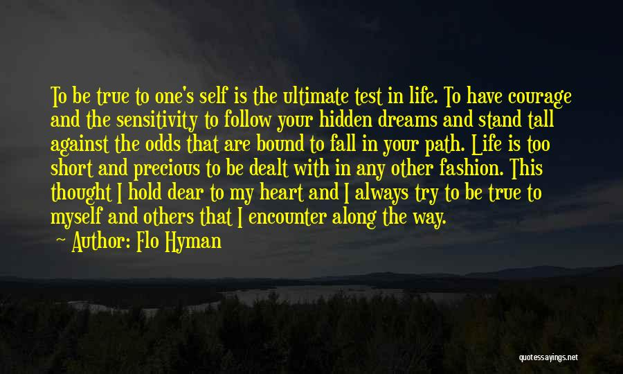 Follow The Dream Quotes By Flo Hyman