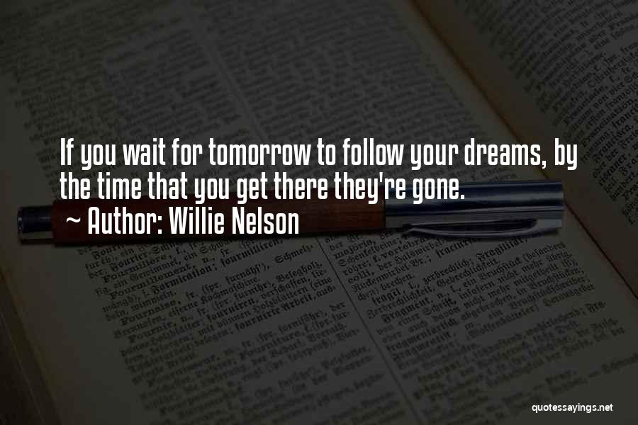 Follow The Dream Quotes By Willie Nelson