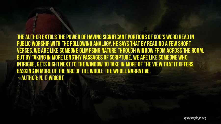 Following God's Word Quotes By N. T. Wright