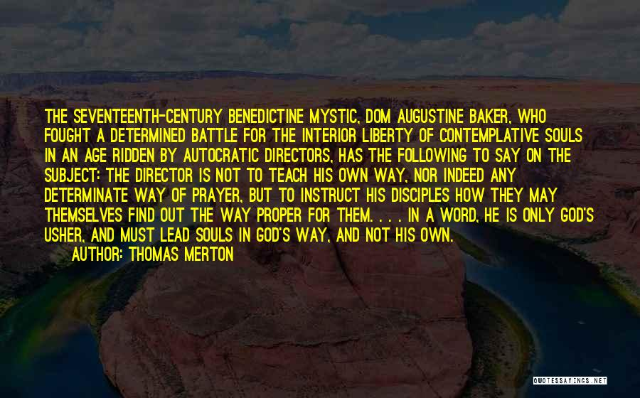 Following God's Word Quotes By Thomas Merton