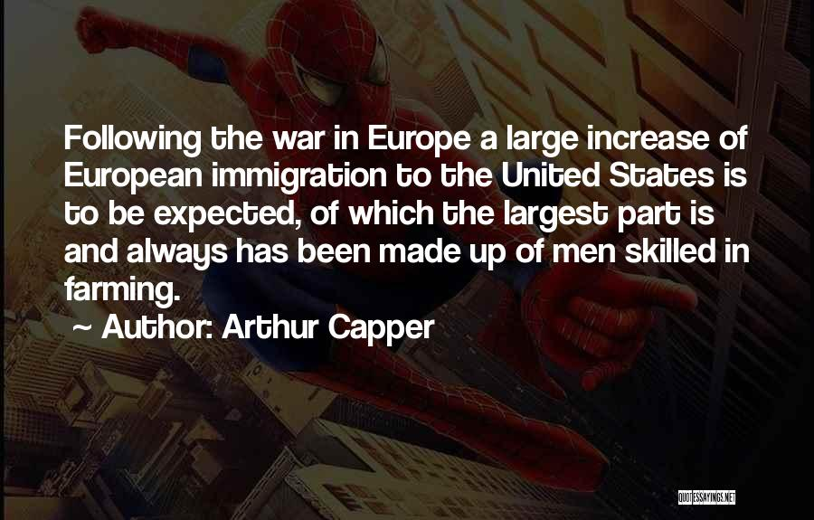 Following Up Quotes By Arthur Capper