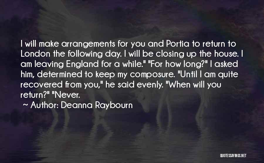 Following Up Quotes By Deanna Raybourn