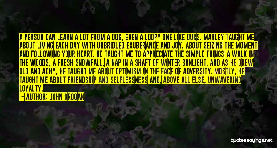 Following Your Joy Quotes By John Grogan