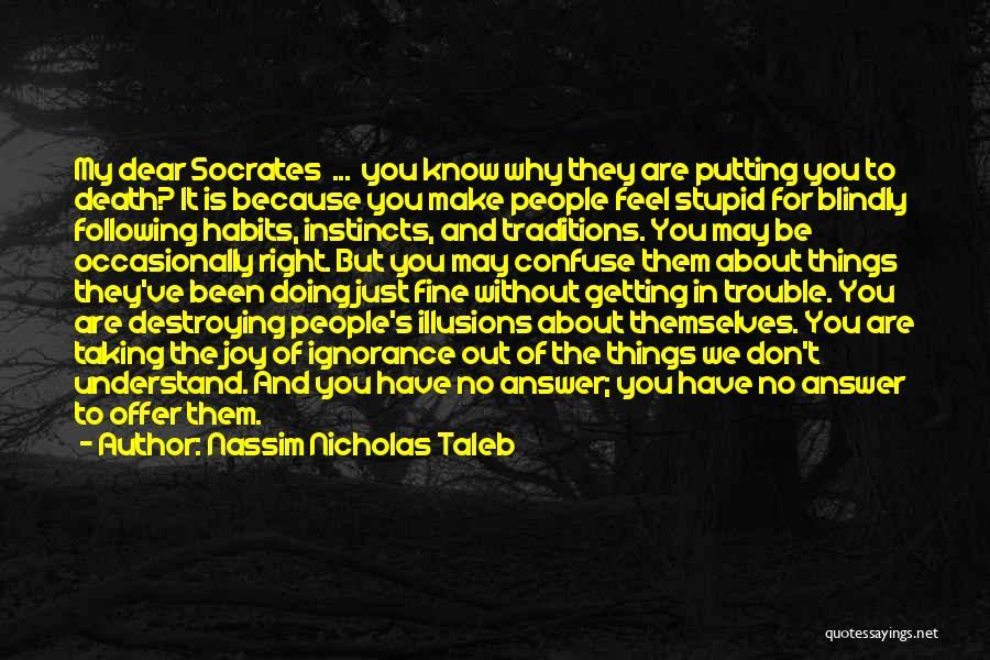 Following Your Joy Quotes By Nassim Nicholas Taleb