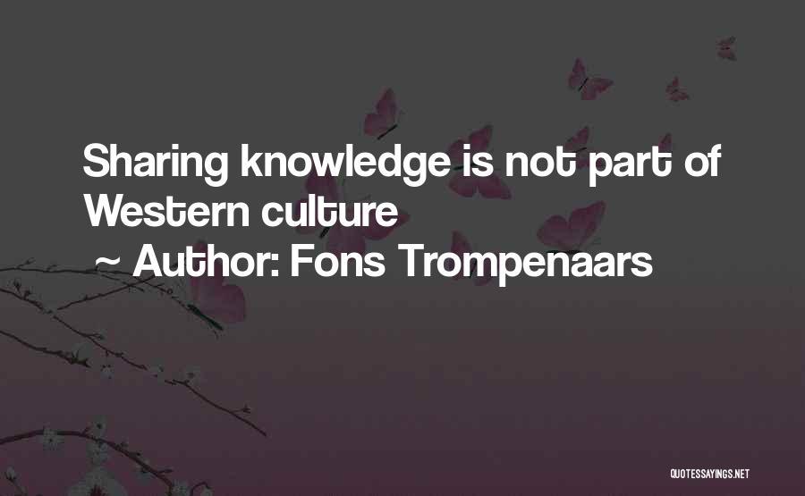 Fons Trompenaars Quotes 1547049