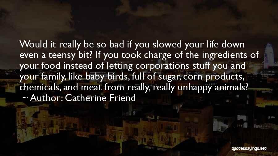 Food And Meals Quotes By Catherine Friend