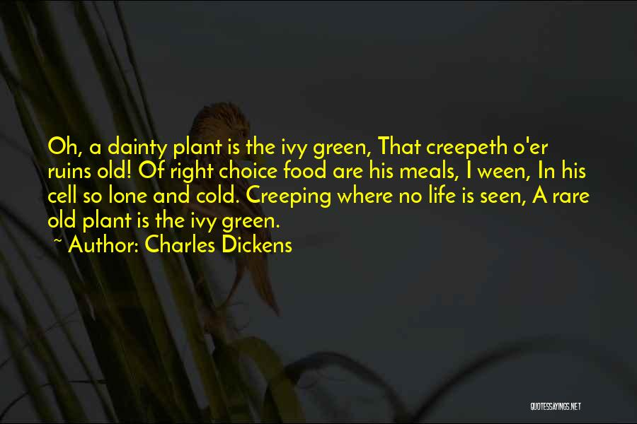 Food And Meals Quotes By Charles Dickens