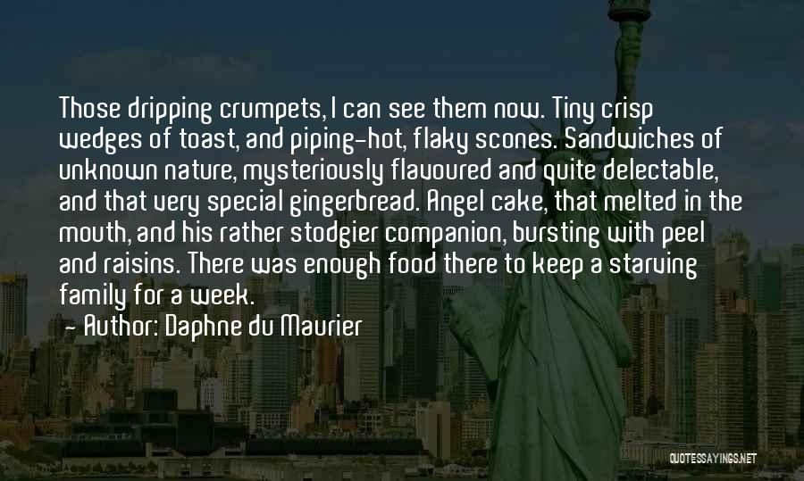 Food And Meals Quotes By Daphne Du Maurier