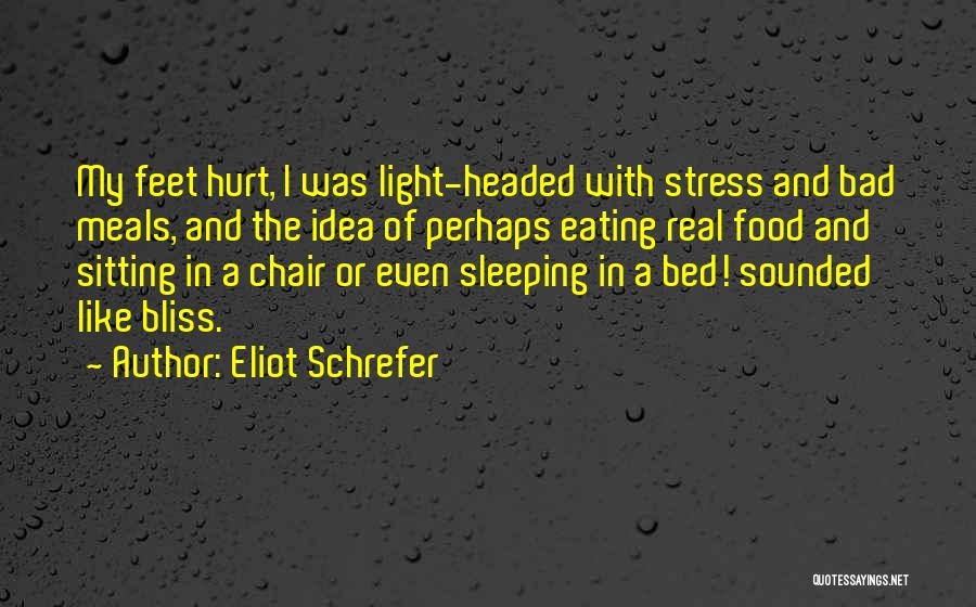 Food And Meals Quotes By Eliot Schrefer