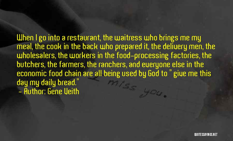 Food And Meals Quotes By Gene Veith