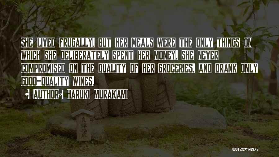 Food And Meals Quotes By Haruki Murakami